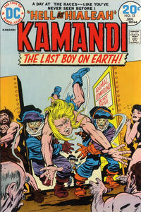 Cover Thumbnail for Kamandi, The Last Boy on Earth (DC, 1972 series) #13