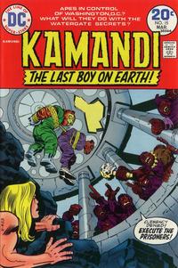 Cover Thumbnail for Kamandi, The Last Boy on Earth (DC, 1972 series) #15