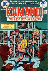 Cover Thumbnail for Kamandi, The Last Boy on Earth (DC, 1972 series) #16