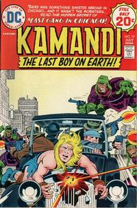 Cover Thumbnail for Kamandi, The Last Boy on Earth (DC, 1972 series) #19