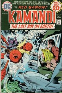 Cover Thumbnail for Kamandi, The Last Boy on Earth (DC, 1972 series) #22