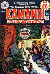 Cover Thumbnail for Kamandi, The Last Boy on Earth (DC, 1972 series) #24