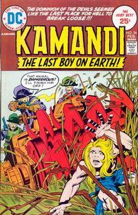 Cover Thumbnail for Kamandi, The Last Boy on Earth (DC, 1972 series) #26