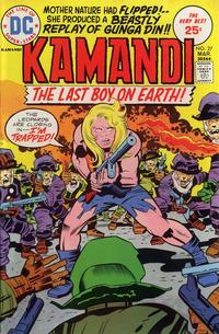 Cover Thumbnail for Kamandi, The Last Boy on Earth (DC, 1972 series) #27