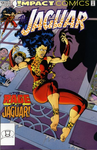 Cover for The Jaguar (DC, 1991 series) #13