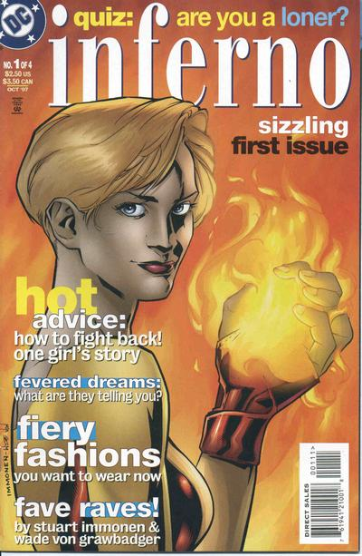 Cover for Inferno (DC, 1997 series) #1