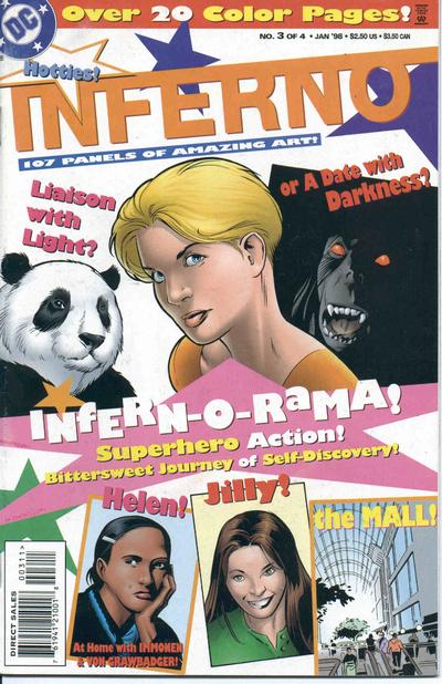 Cover for Inferno (DC, 1997 series) #3