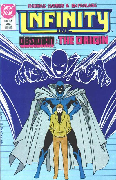 Cover for Infinity, Inc. (DC, 1984 series) #33
