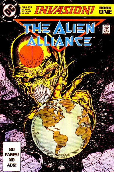 Cover for Invasion (DC, 1988 series) #1