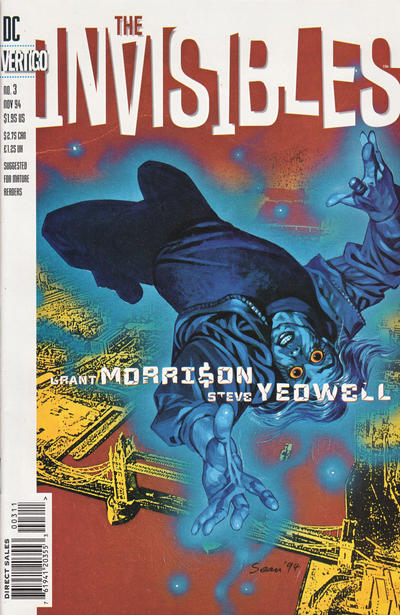 Cover for The Invisibles (DC, 1994 series) #3
