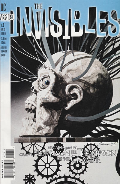 Cover for The Invisibles (DC, 1994 series) #8
