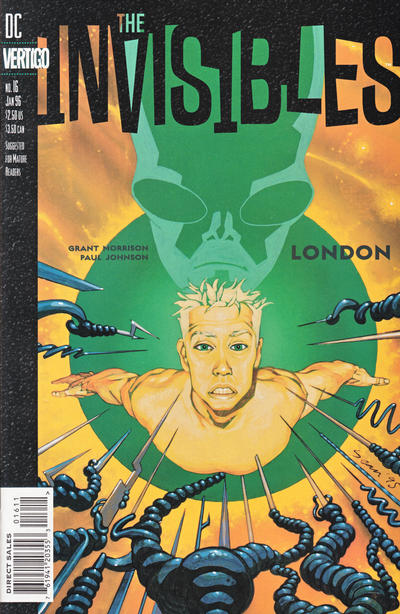 Cover for The Invisibles (DC, 1994 series) #16