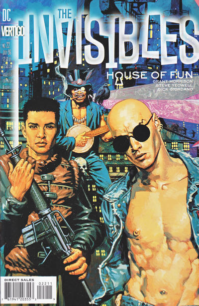 Cover for The Invisibles (DC, 1994 series) #22