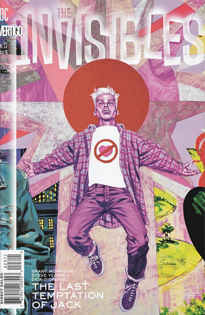 Cover for The Invisibles (DC, 1994 series) #23