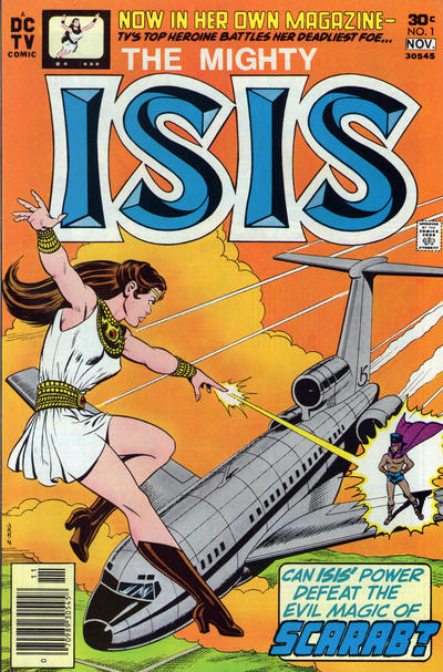 Cover for Isis (DC, 1976 series) #1