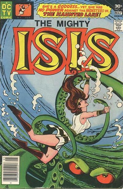 Cover for Isis (DC, 1976 series) #4