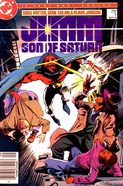 Cover for Jemm, Son of Saturn (DC, 1984 series) #1 [Canadian]
