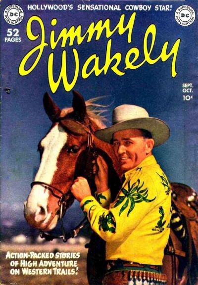 Cover for Jimmy Wakely (DC, 1949 series) #1
