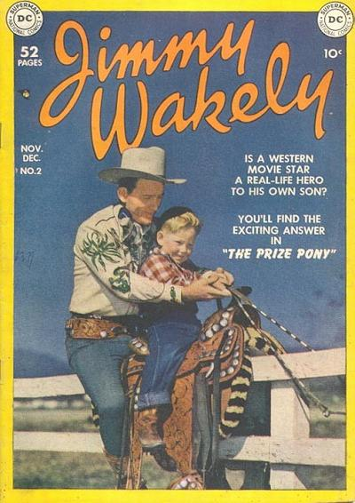 Cover for Jimmy Wakely (DC, 1949 series) #2