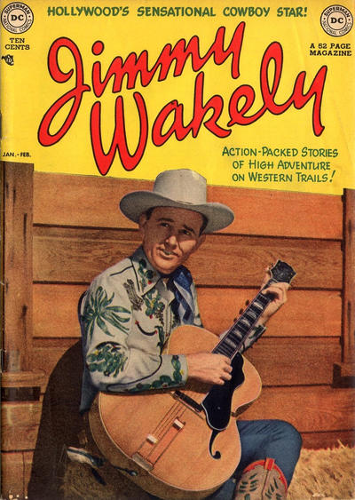 Cover for Jimmy Wakely (DC, 1949 series) #3
