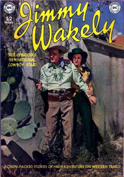 Cover for Jimmy Wakely (DC, 1949 series) #4