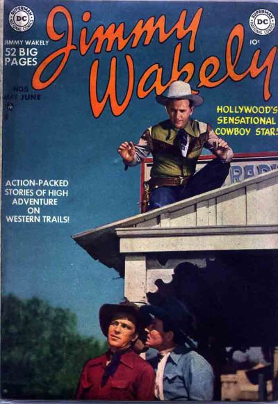 Cover for Jimmy Wakely (DC, 1949 series) #5