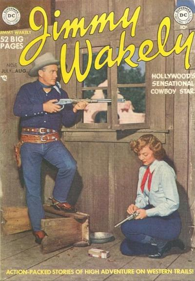 Cover for Jimmy Wakely (DC, 1949 series) #6