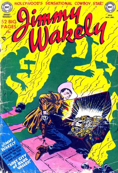 Cover for Jimmy Wakely (DC, 1949 series) #8