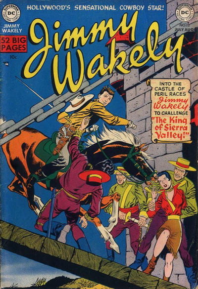 Cover for Jimmy Wakely (DC, 1949 series) #12