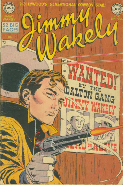 Cover for Jimmy Wakely (DC, 1949 series) #13