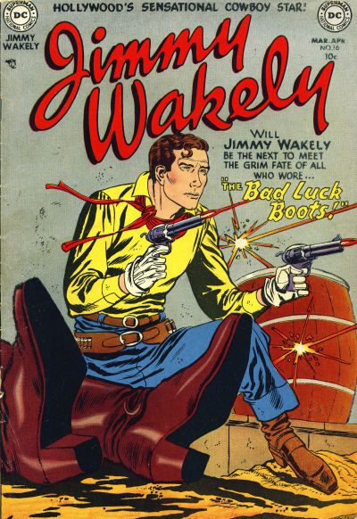Cover for Jimmy Wakely (DC, 1949 series) #16