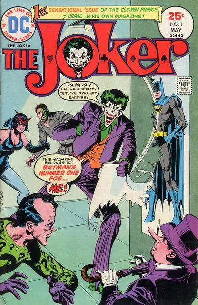 Cover for The Joker (DC, 1975 series) #1