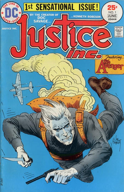 Cover for Justice, Inc. (DC, 1975 series) #1