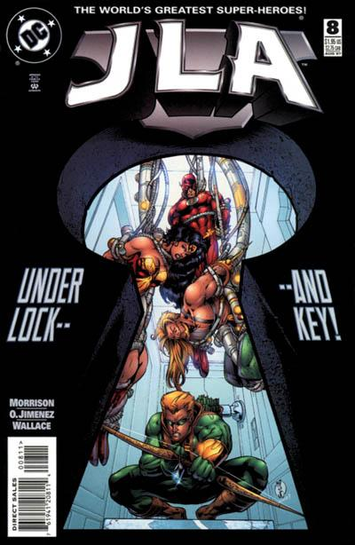 Cover for JLA (DC, 1997 series) #8