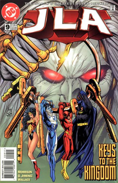 Cover for JLA (DC, 1997 series) #9