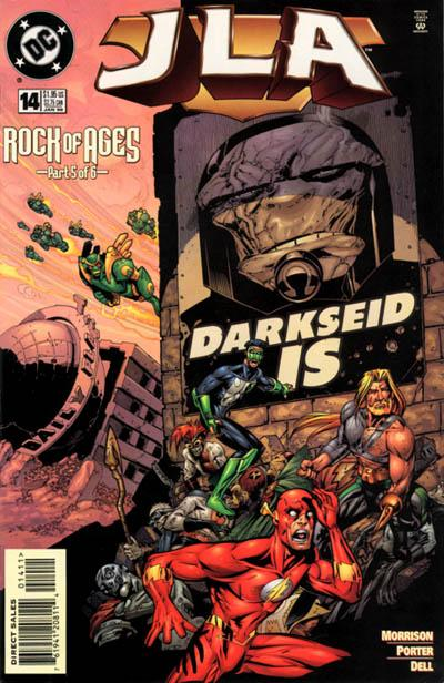 Cover for JLA (DC, 1997 series) #14 [Direct Sales]