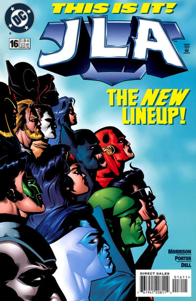 Cover for JLA (DC, 1997 series) #16