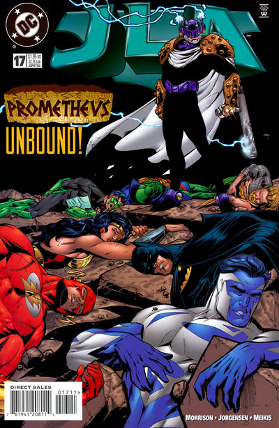Cover for JLA (DC, 1997 series) #17