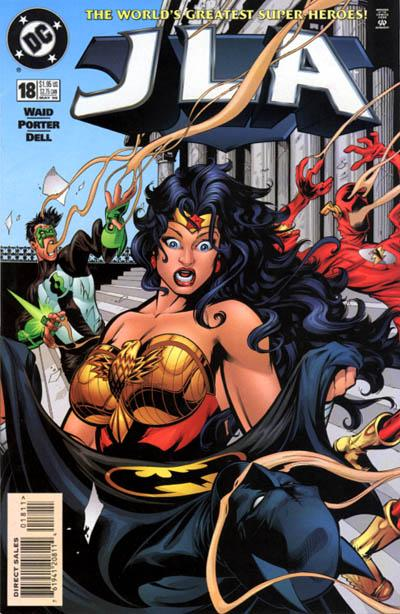 Cover for JLA (DC, 1997 series) #18