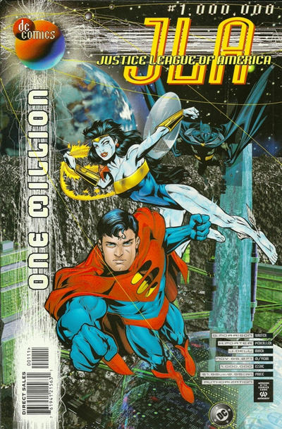 Cover for JLA (DC, 1997 series) #1,000,000 [Direct Sales]
