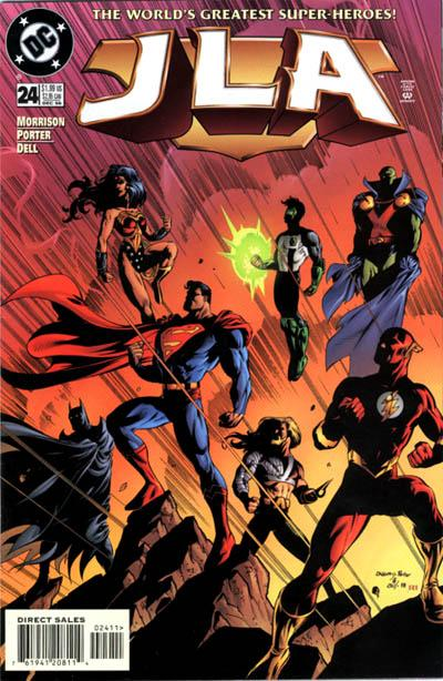 Cover for JLA (DC, 1997 series) #24