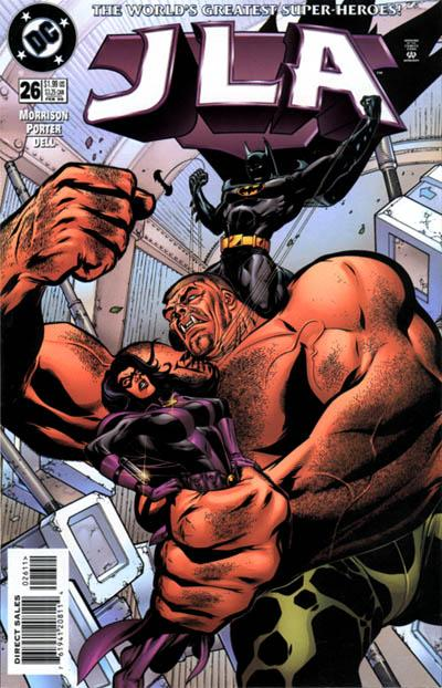 Cover for JLA (DC, 1997 series) #26