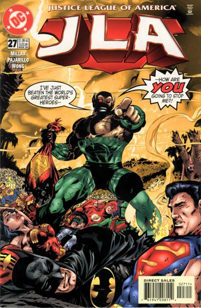 Cover for JLA (DC, 1997 series) #27