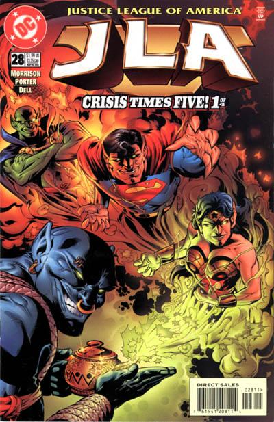 Cover for JLA (DC, 1997 series) #28
