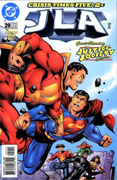 Cover for JLA (DC, 1997 series) #29