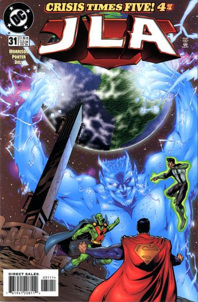 Cover for JLA (DC, 1997 series) #31