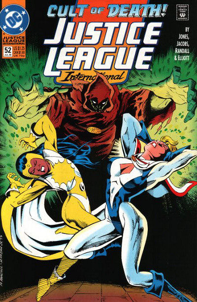 Cover for Justice League International (DC, 1993 series) #52