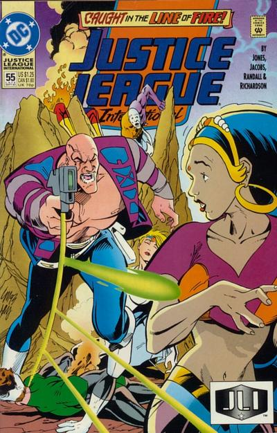 Cover for Justice League International (DC, 1993 series) #55