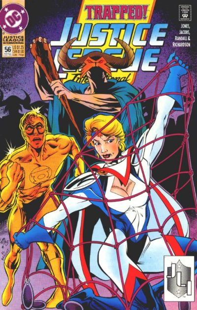 Cover for Justice League International (DC, 1993 series) #56