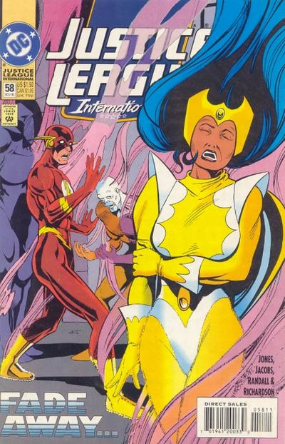 Cover for Justice League International (DC, 1993 series) #58